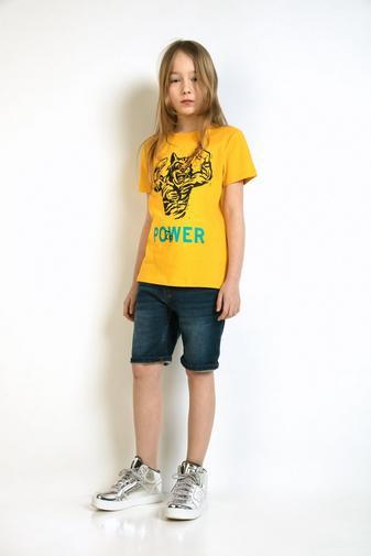 T-shirt met tijgerprint